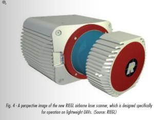 Alkuvuodesta julkaistava uusi UAV-skanneri Riegliltä.